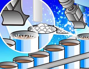 3タイプの消泡・脱泡装置のイメージ